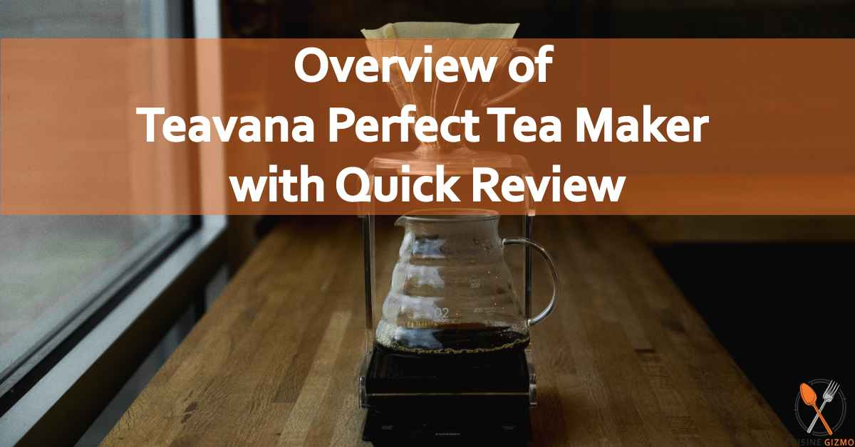 Overview of Teavana Perfect Tea Maker with Quick Review