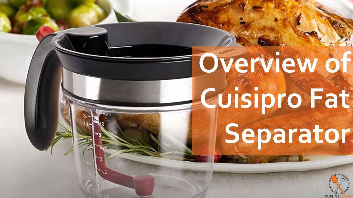 cuisipro fat separator