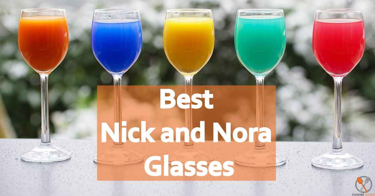 Best 4 Nick and Nora Glasses