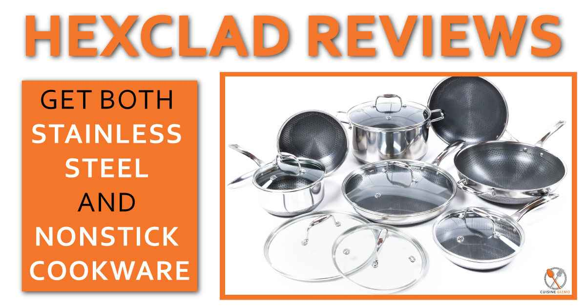 Hexclad Review: Get both Stainless steel and Nonstick Cookware