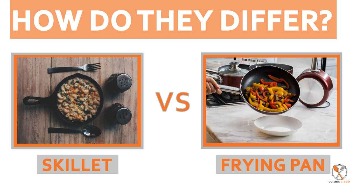 Skillet vs Frying Pan: How Do They Differ?