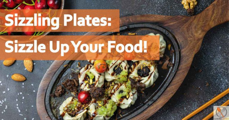 Sizzling plates
